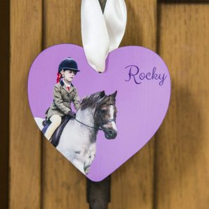 HoofPrints Personalised Photo Heart Ornament