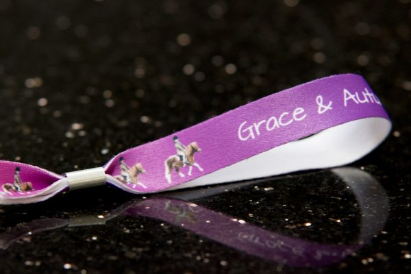 HoofPrints Personalised Photo Wristbands - Images of your own horse or pony