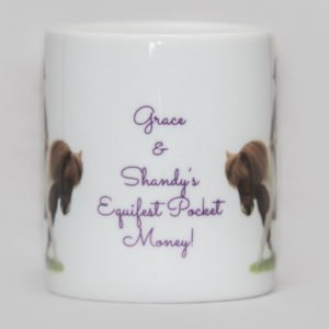 HoofPrints Personalised Money Box